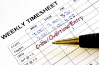 Crew/Overtime Entry for QuickBooks