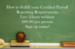 Learn how to complete a certified payroll report